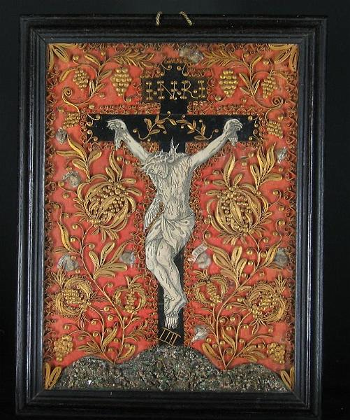 04041.jpg - Crucifixo milagroso.  Clarissas de Chambéry décimo oitavo