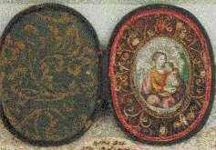 Reliquaire de voyage. XVIIIème