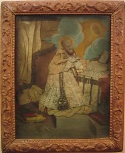 St François de Sales, gravure habillée. XVIIème