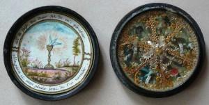 Reliquaire de poche. XVIIIème