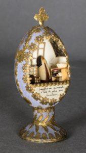 Cellule de nonne - Cellule de carmélite dans un oeuf, carmel de la Tronche, XIXe