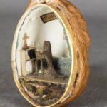 Cellule de nonne - Cellule de carmélite dans une noix, XIXe