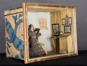 Cellule de nonne - Cellule de clarisse, Bourgogne XVIIIe