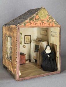 Cellule de nonne - Cellule de visitandine, visitation de Metz, début XIXe