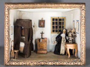 Cellule de nonne - Cellule d'une hospitalière de Notre Dame de la Miséricorde, début XVIIIe