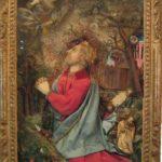 Jésus au Mont des Oliviers. Nancy XVIIIe