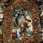 Annonciation (détail). Annonciades célestes Lyon XVIIIe