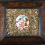 La sainte Famille en émail de Limoges. XVIIe